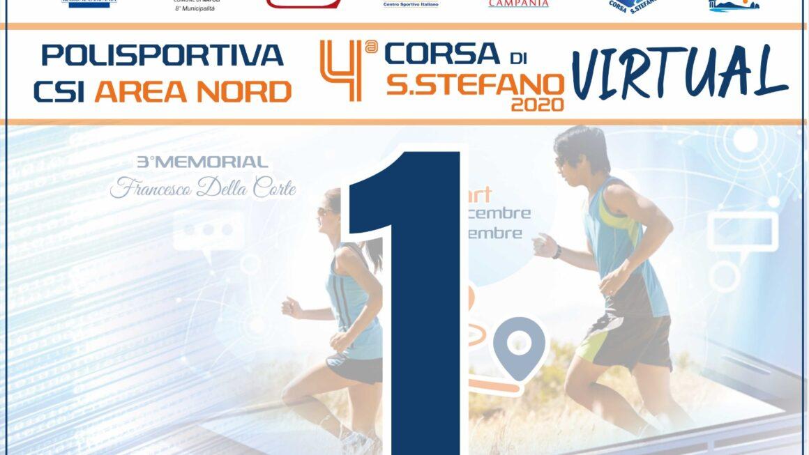 """4^ CORSA DI SANTO STEFANO – 3° MEMORIAL """"FRANCESCO DELLA CORTE"""""""