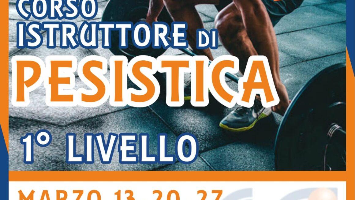 ISTRUTTORE DI FITNESS 1° LIVELLO (INDIRIZZO PESISTICA)